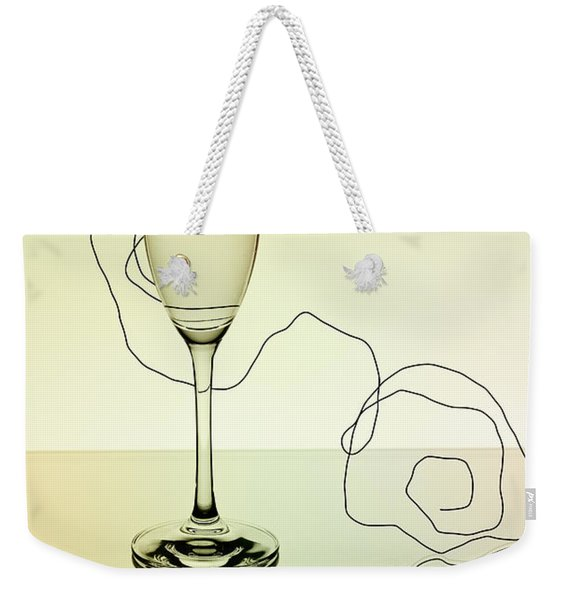 Reflection 01 Weekender Tote Bag