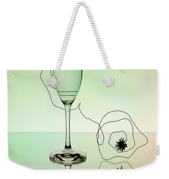 Reflection 02 Weekender Tote Bag