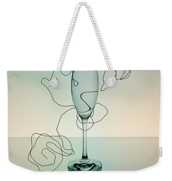 Reflection 03 Weekender Tote Bag