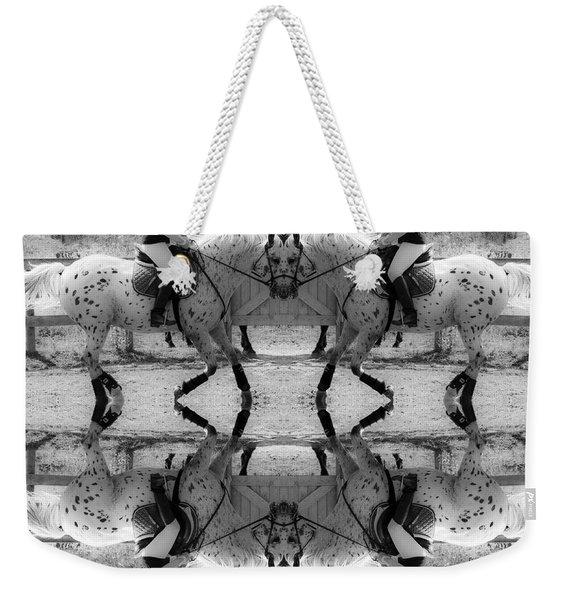 Reflective Thinking Weekender Tote Bag