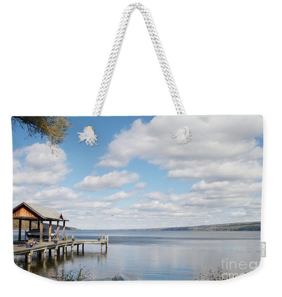 Resting Waters Weekender Tote Bag
