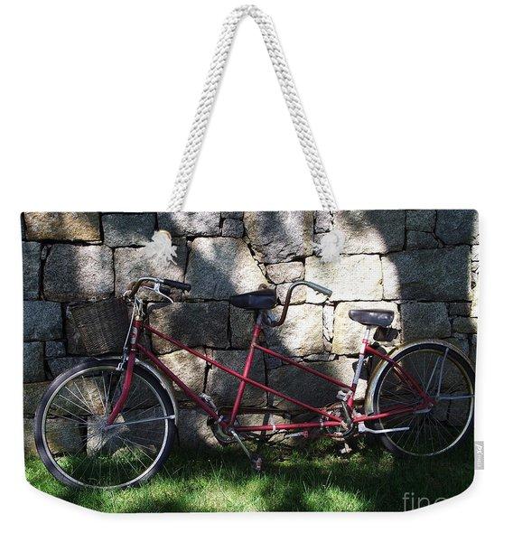 Retired  Ride Weekender Tote Bag