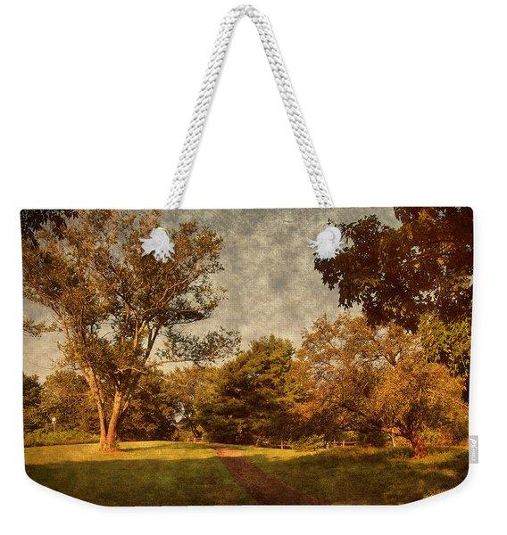 Ridge Walk - Holmdel Park Weekender Tote Bag