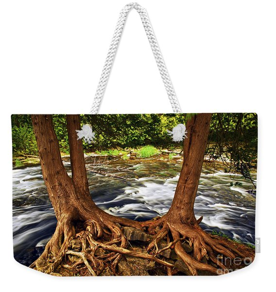 River And Roots Weekender Tote Bag
