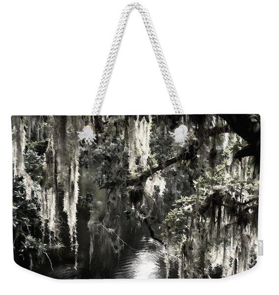 River Branch Weekender Tote Bag