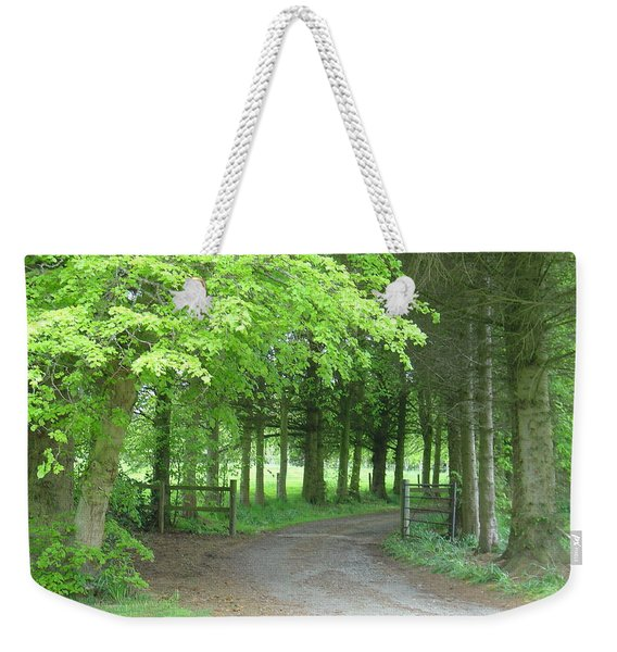 Road Into The Woods Weekender Tote Bag