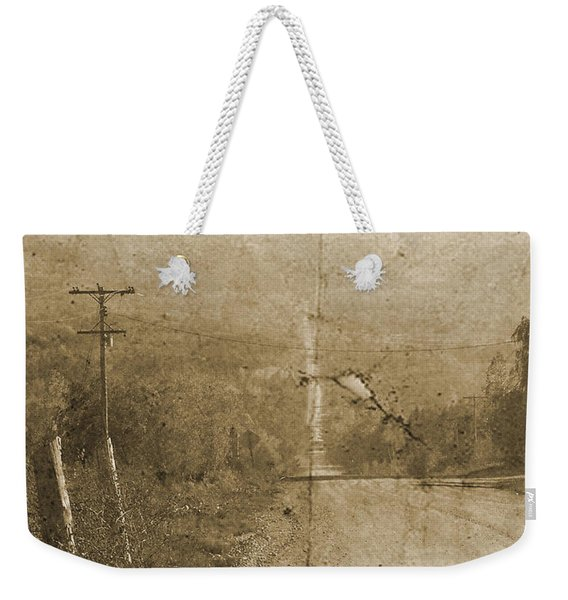 Road Not Traveled  Weekender Tote Bag