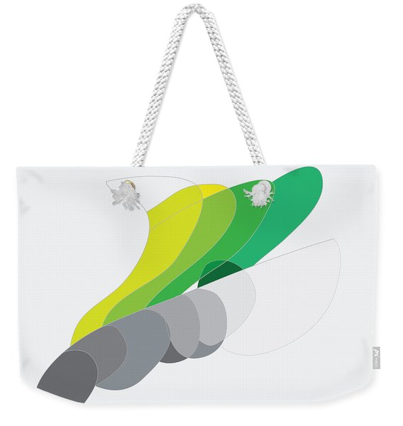 Rock And Lichen Weekender Tote Bag