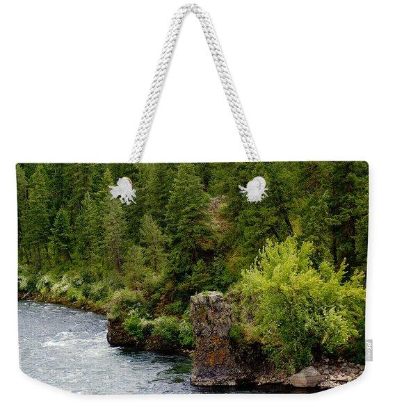 Rockin The Spokane River Weekender Tote Bag