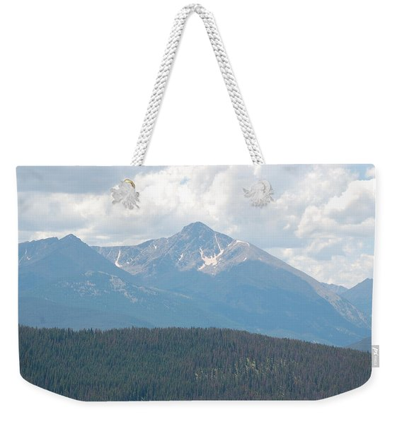 Rocky Mountain High Weekender Tote Bag