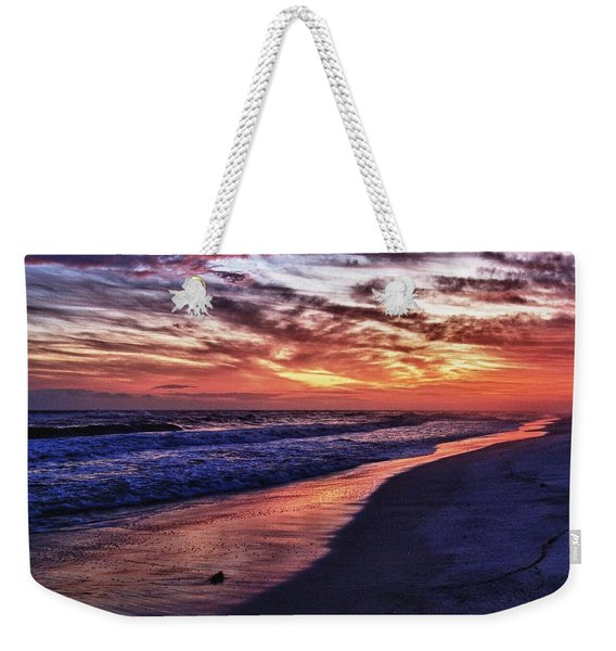 Romar Beach Sunset Weekender Tote Bag
