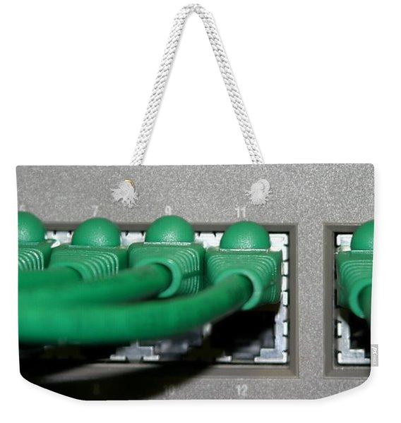 Router Weekender Tote Bag