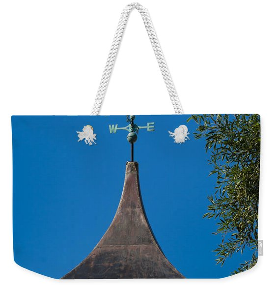 Sailfish Weather Vane At Palm Beach Shores Weekender Tote Bag