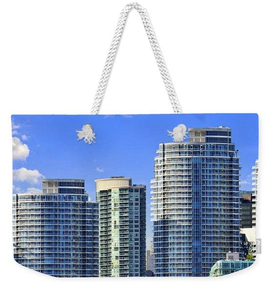 Sailing In Toronto Harbor Weekender Tote Bag