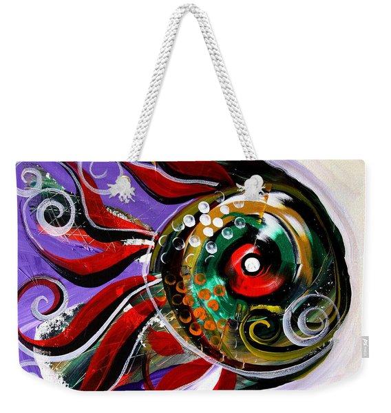 Salvador Dali Octo Fish Weekender Tote Bag