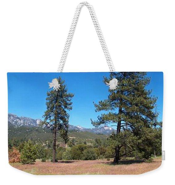 San Bernardino Forest Vista Weekender Tote Bag