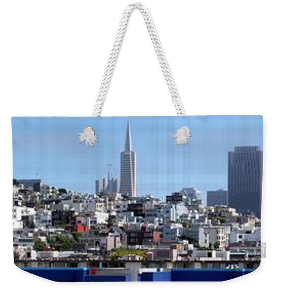 San Francisco Panorama Weekender Tote Bag