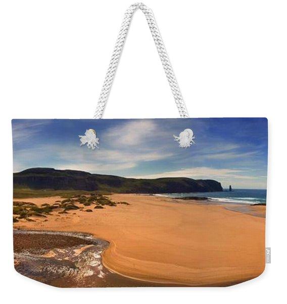 Sandwood Bay Weekender Tote Bag