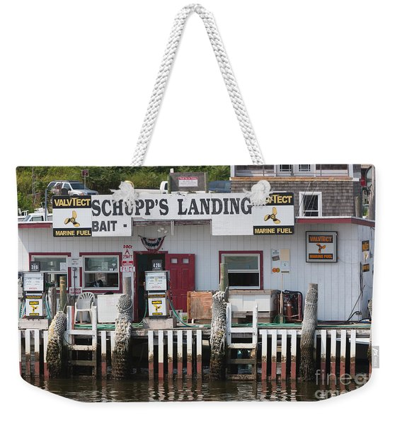 Schupp's Landing I Weekender Tote Bag