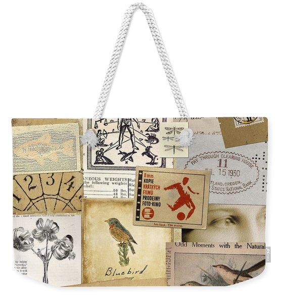 Scrapbook Page Number 1 Weekender Tote Bag