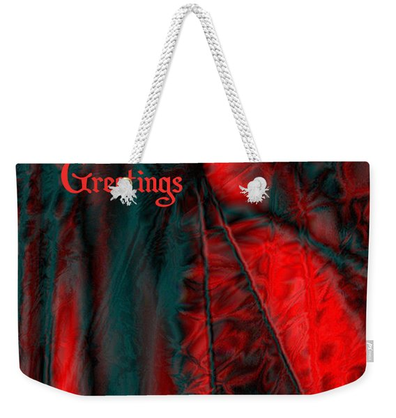 Season's Greetings Weekender Tote Bag