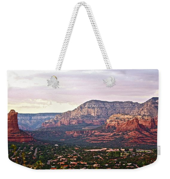 Sedona Evening Weekender Tote Bag