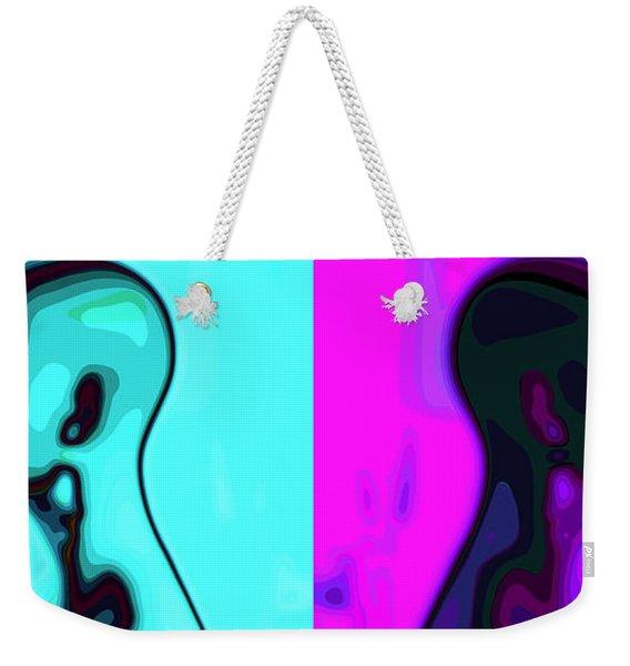 Separation Weekender Tote Bag