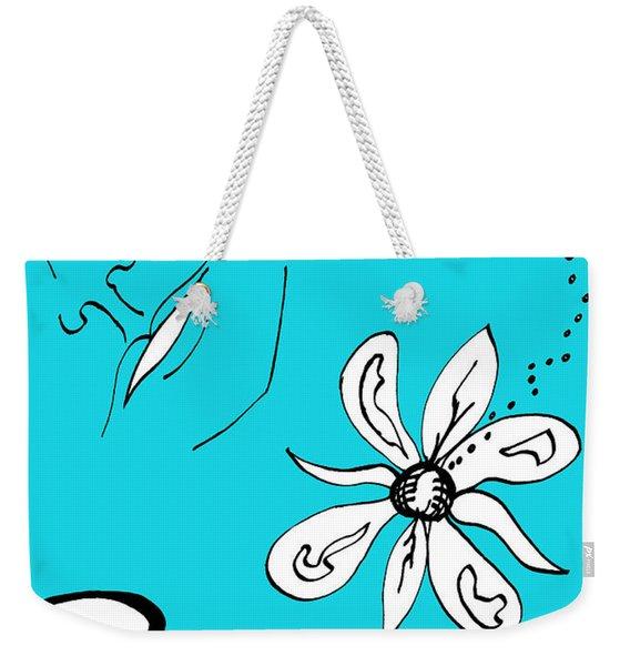 Serenity In Blue Weekender Tote Bag