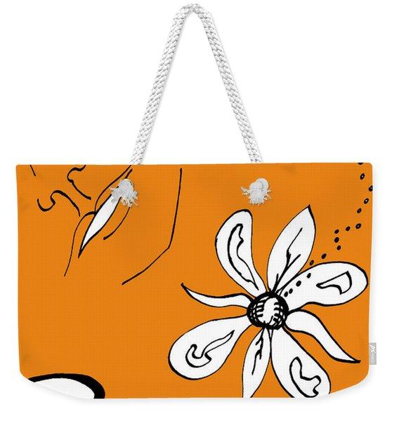 Serenity In Orange Weekender Tote Bag