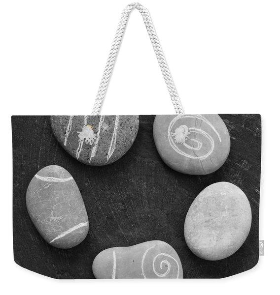 Serenity Stones Weekender Tote Bag