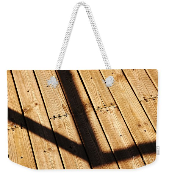 Shaded Walkway Floor Weekender Tote Bag