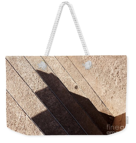 Shadow Stair Weekender Tote Bag