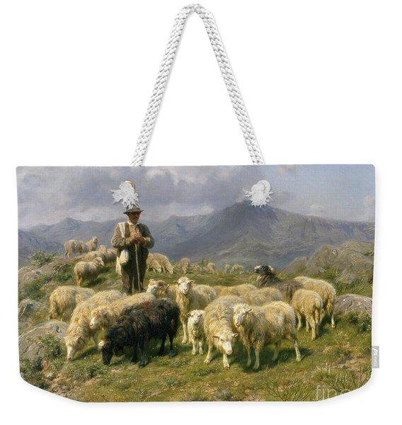 Shepherd Of The Pyrenees Weekender Tote Bag
