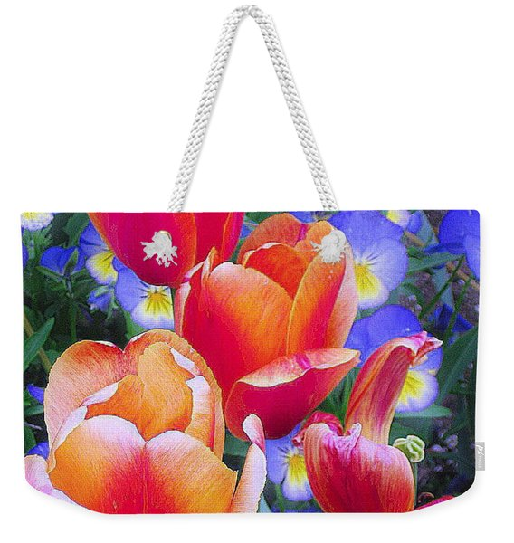 Shining Bright Weekender Tote Bag