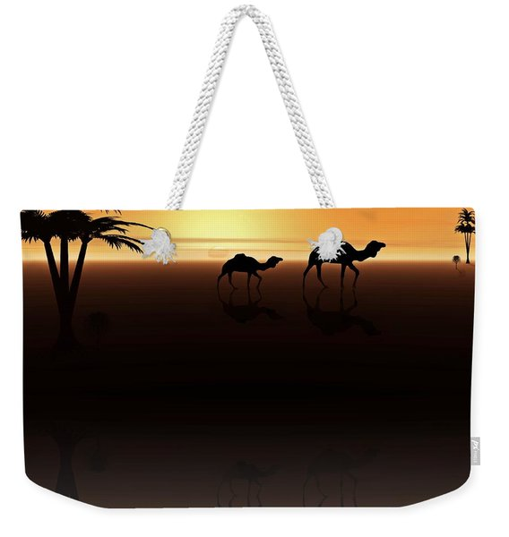 Ships Of The Desert Weekender Tote Bag