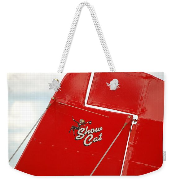 Show Cat Weekender Tote Bag