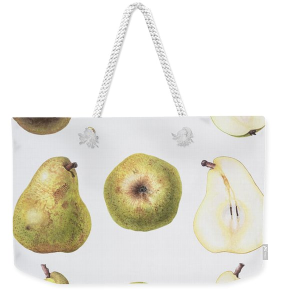 Six Pears Weekender Tote Bag