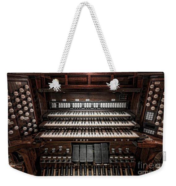 Skinner Pipe Organ Weekender Tote Bag