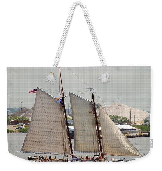 Skipjack Weekender Tote Bag