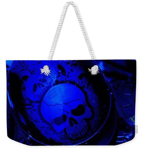 Skull Cap Weekender Tote Bag