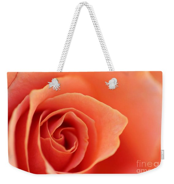 Soft Rose Petals Weekender Tote Bag
