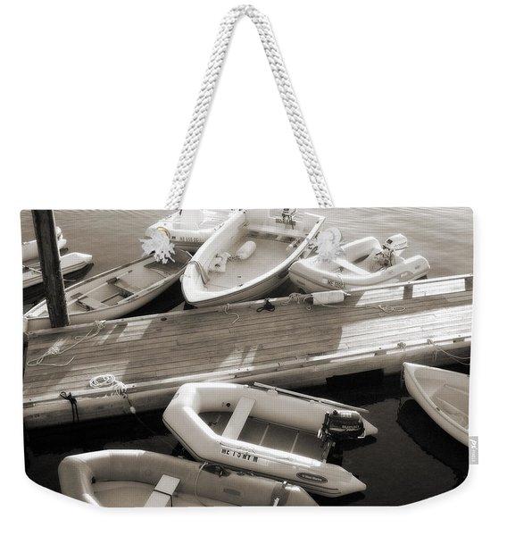 Softly Floating Weekender Tote Bag
