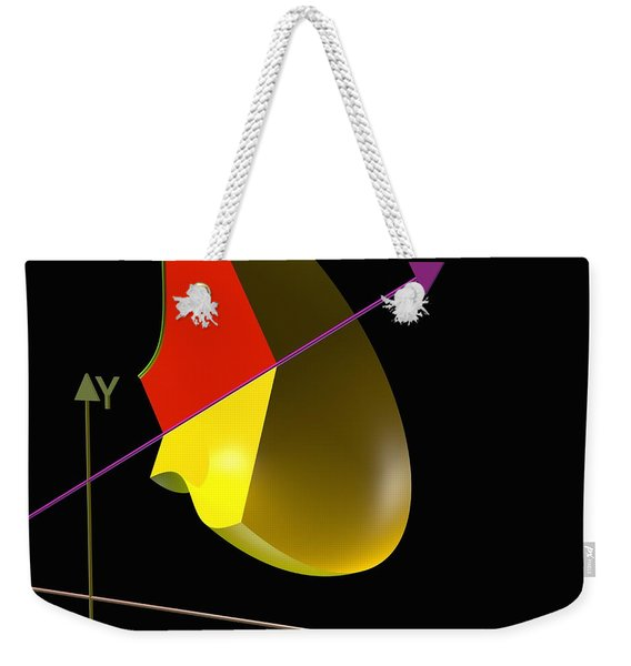 Solid Of Revolution 4 Weekender Tote Bag
