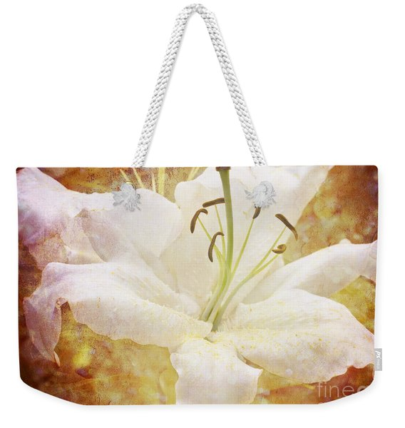 Sparkling Lily Weekender Tote Bag