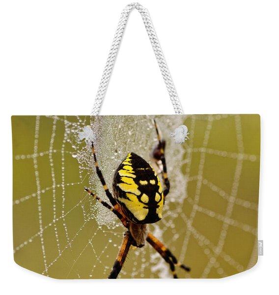 Spider Power Weekender Tote Bag