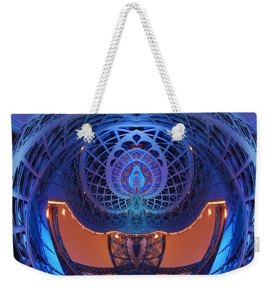 Spirograph Planet Weekender Tote Bag