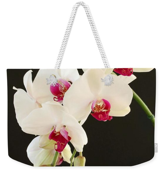 Spray Of White Orchids Weekender Tote Bag