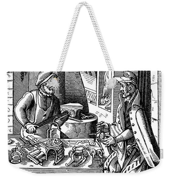 Spur Maker, 16th Century Weekender Tote Bag