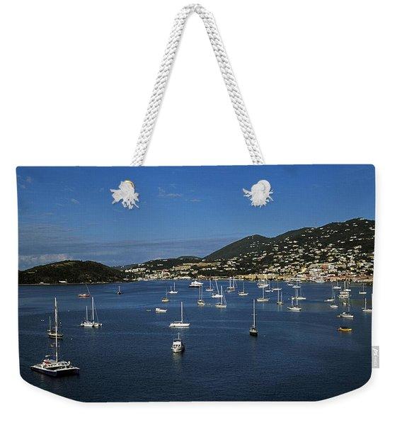 St Johns, Antigua, West Indies Weekender Tote Bag