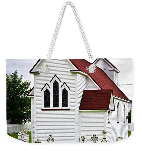 St. Luke's Church And Cemetery In Placentia Weekender Tote Bag